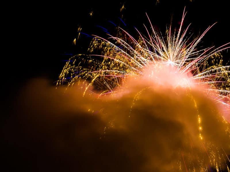 Hochzeit-Feuerwerk