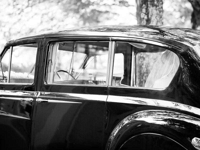 Hochzeitsauto-Oldtimer