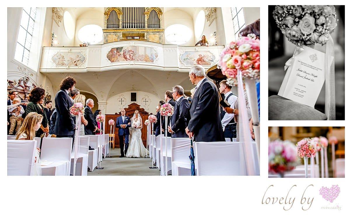 Hochzeit auf Insel Mainau am Bodensee Flowers von Florist flowerpower in Ueberlingen, Marienchurch