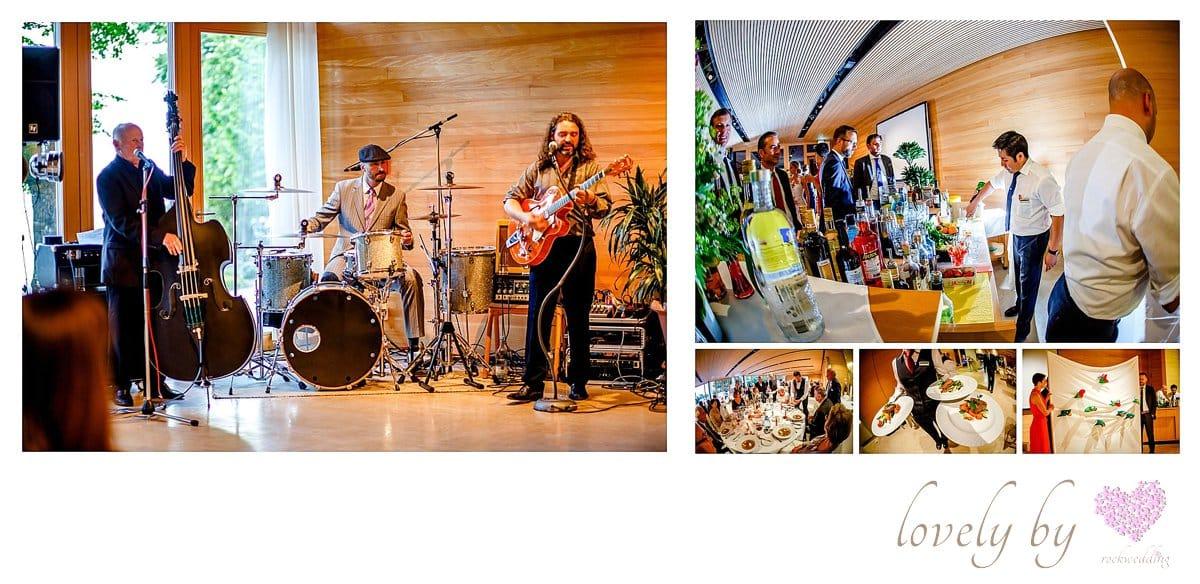 Hochzeit auf Insel Mainau am Bodensee Location comturey, three some music