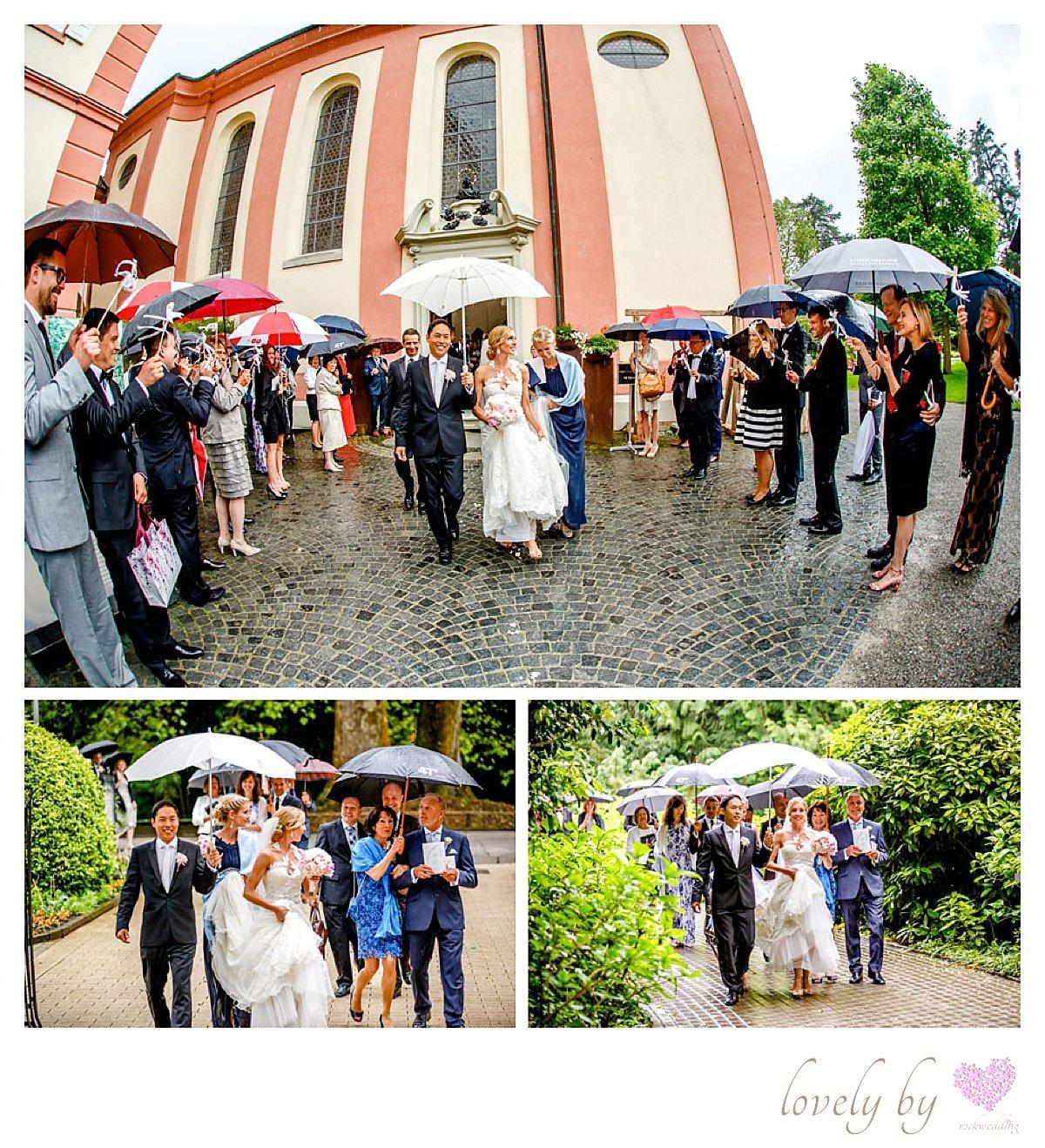 Hochzeit auf Insel Mainau am Bodensee Marienchurch