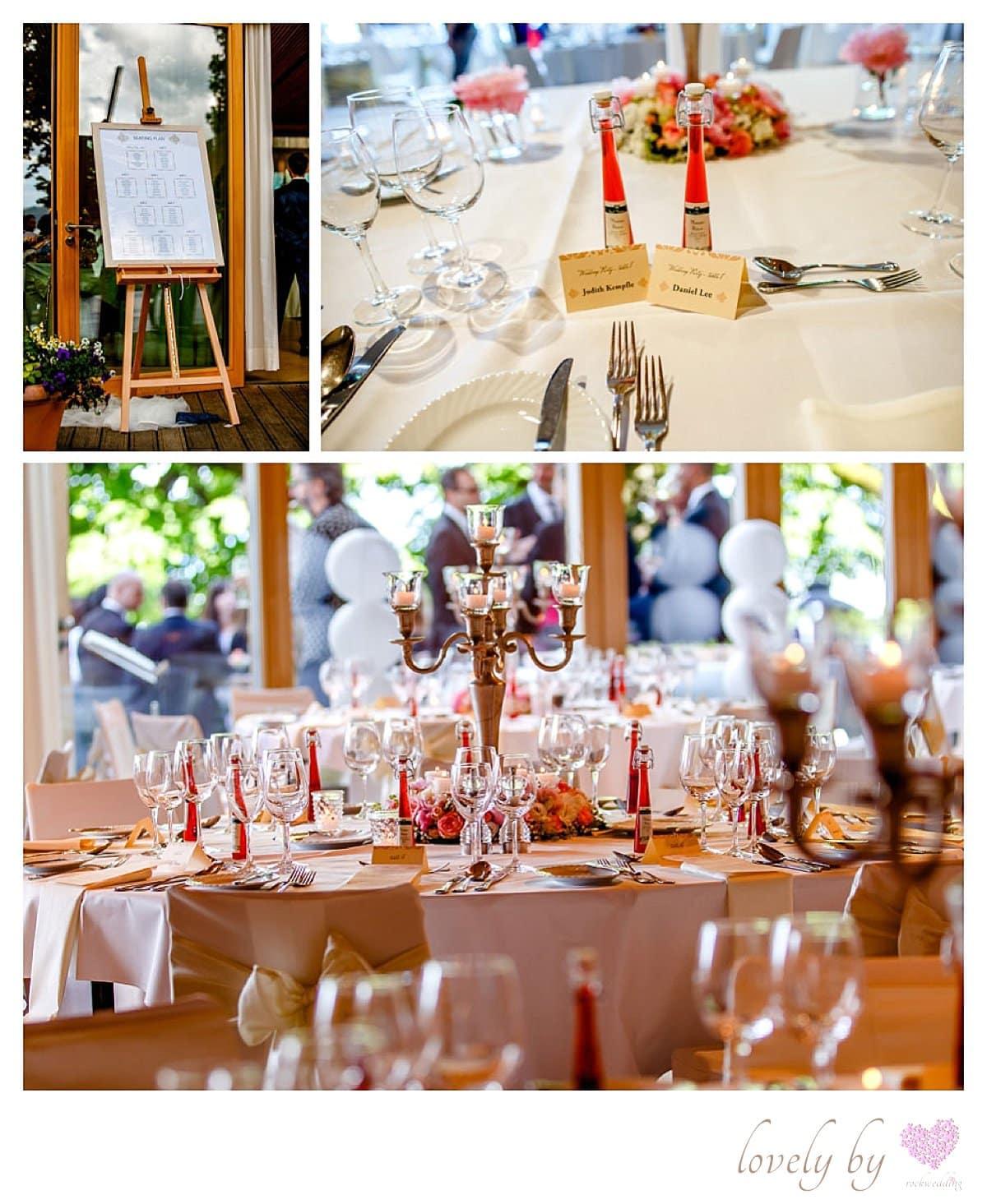 Hochzeit auf Insel Mainau- deutsch amerikanische Hochzeit am Boden see created by von rock
