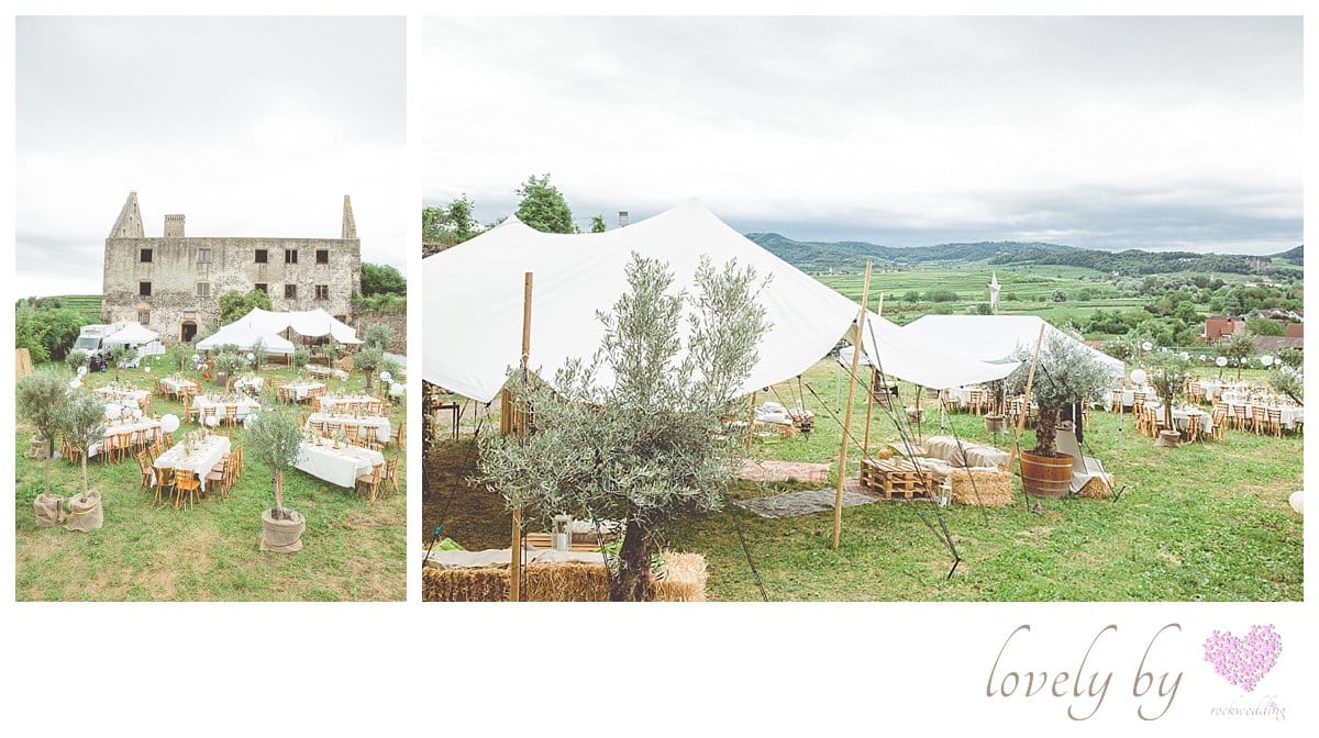 Die Gartenparty zur Hochzeit von Sylvia und Nicholas in Burkheim am Kaiserstuhl Bohostyle Real wedding designed and organised by Anna-Maria Rock rockwedding