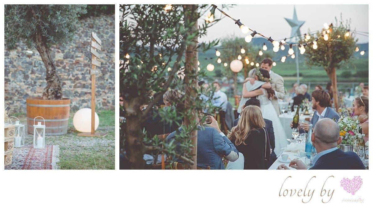 Die Gartenparty zur Hochzeit von Sylvia und Nicholas in Burkheim am Kaiserstuhl Bohostyle Real wedding designed and organised by Anna-Maria Rock rockwedding