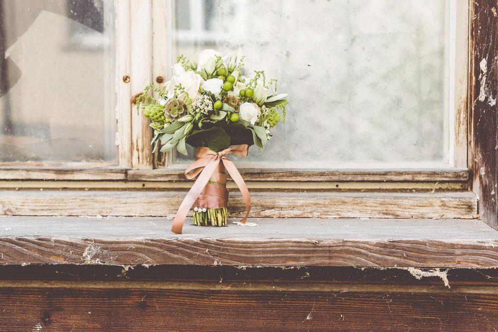 brautstrauss deko floristik
