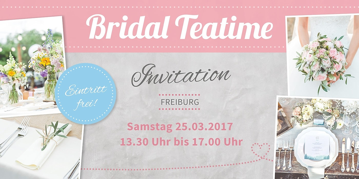 Bridal Teatime Invitation