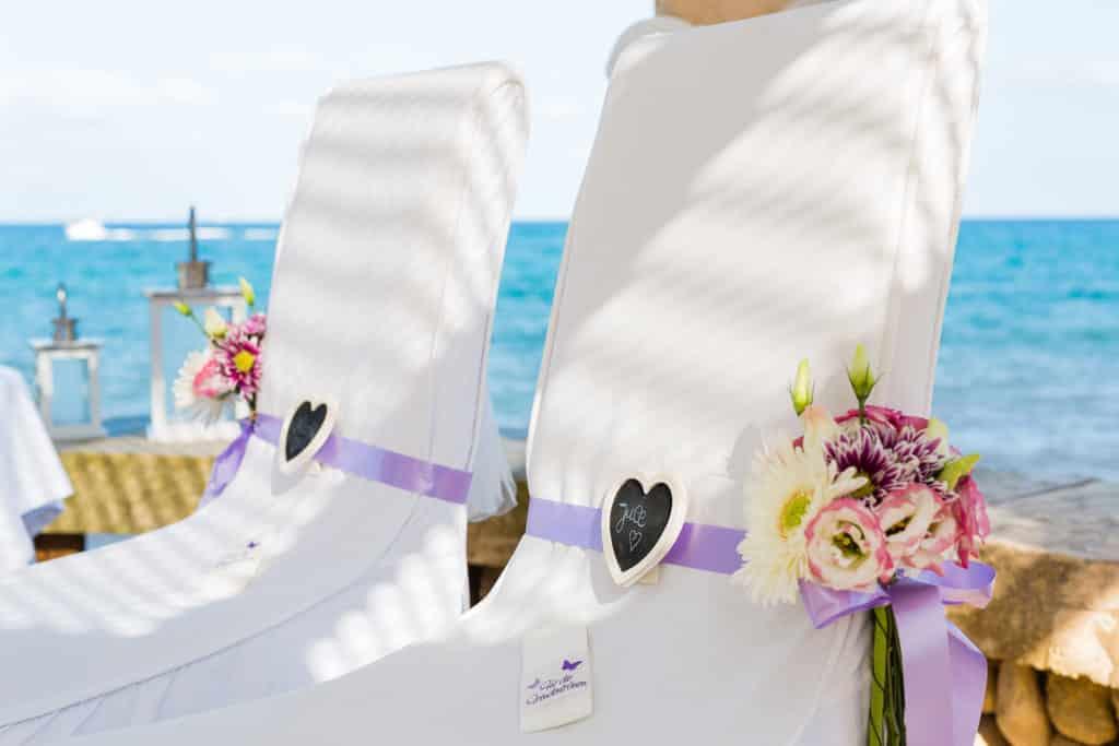 Marriage on the beach of Mallorca ♥ rockwedding