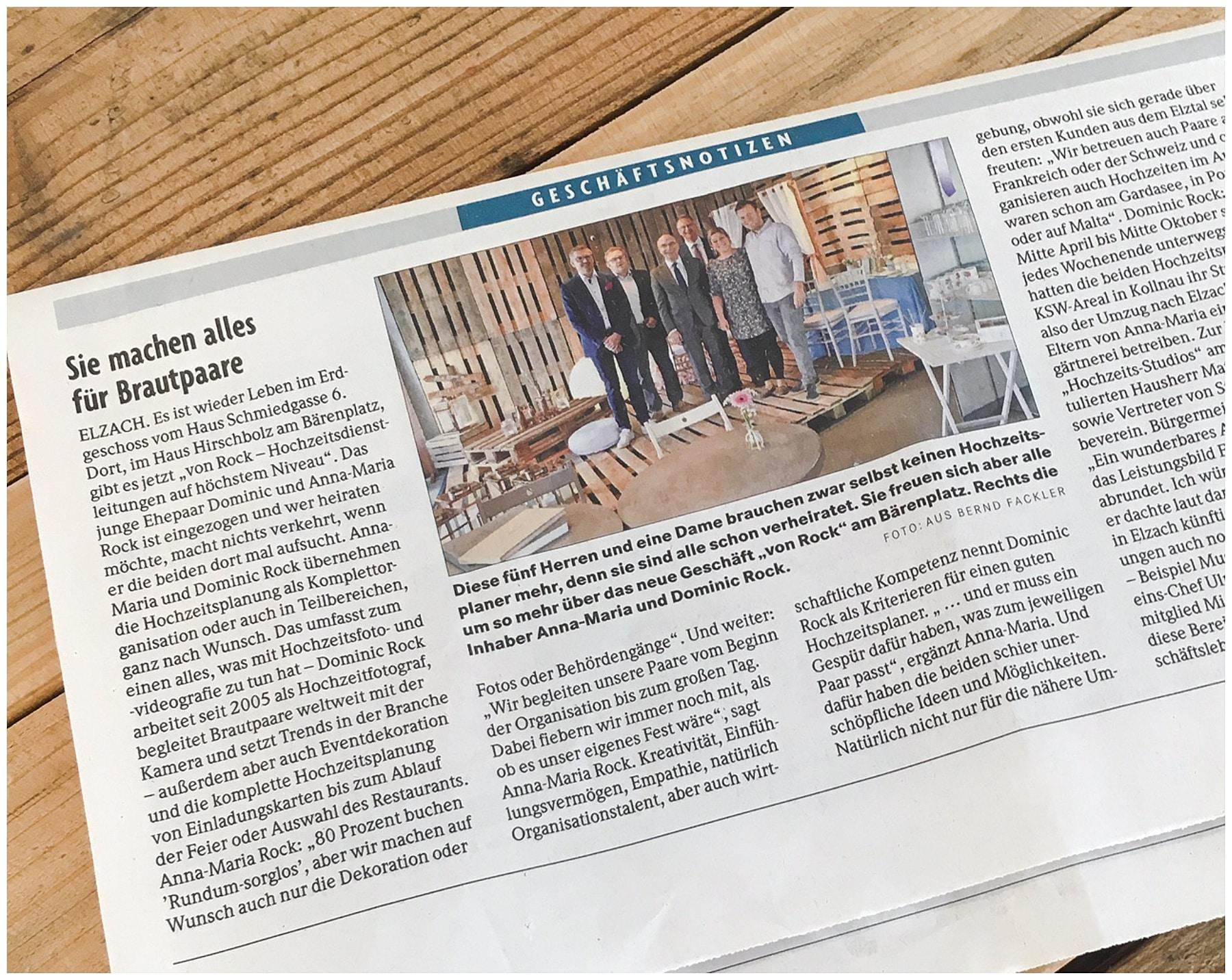 Badische Zeitung Hochzeitsplanung Freiburg