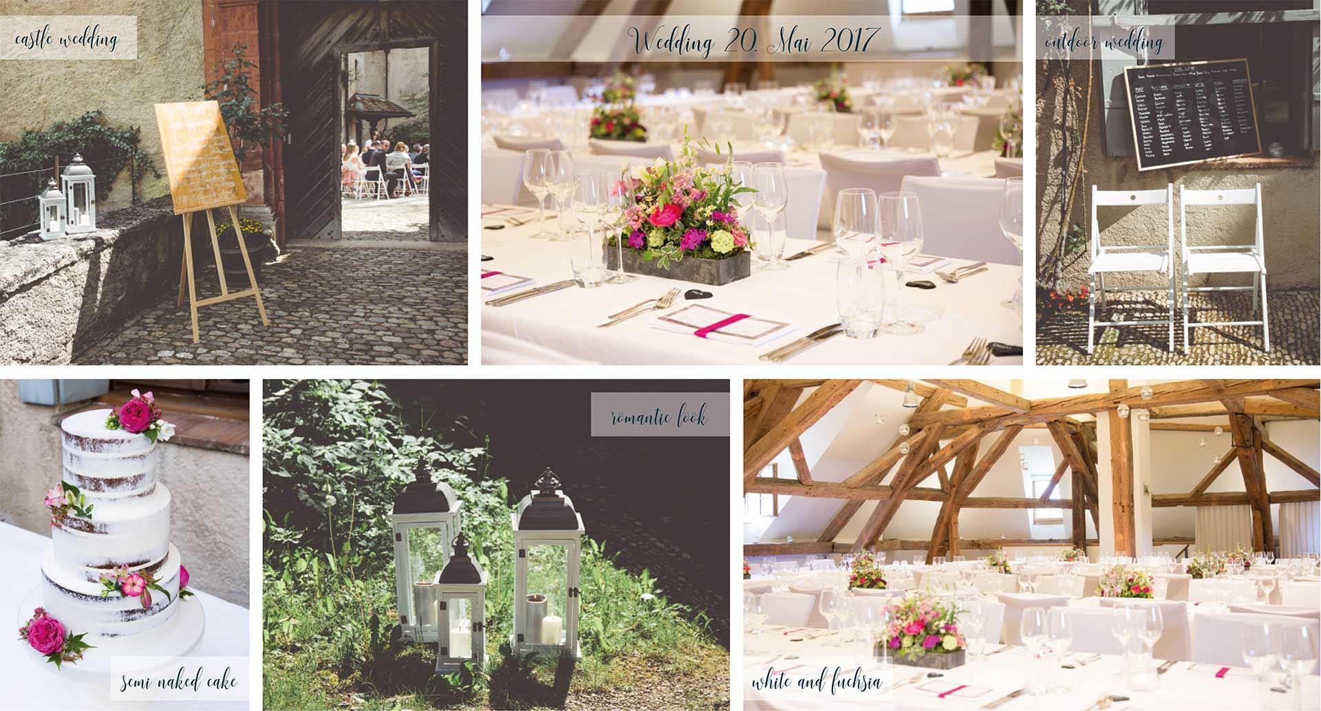Romantische Schlosshochzeit in der Schweiz