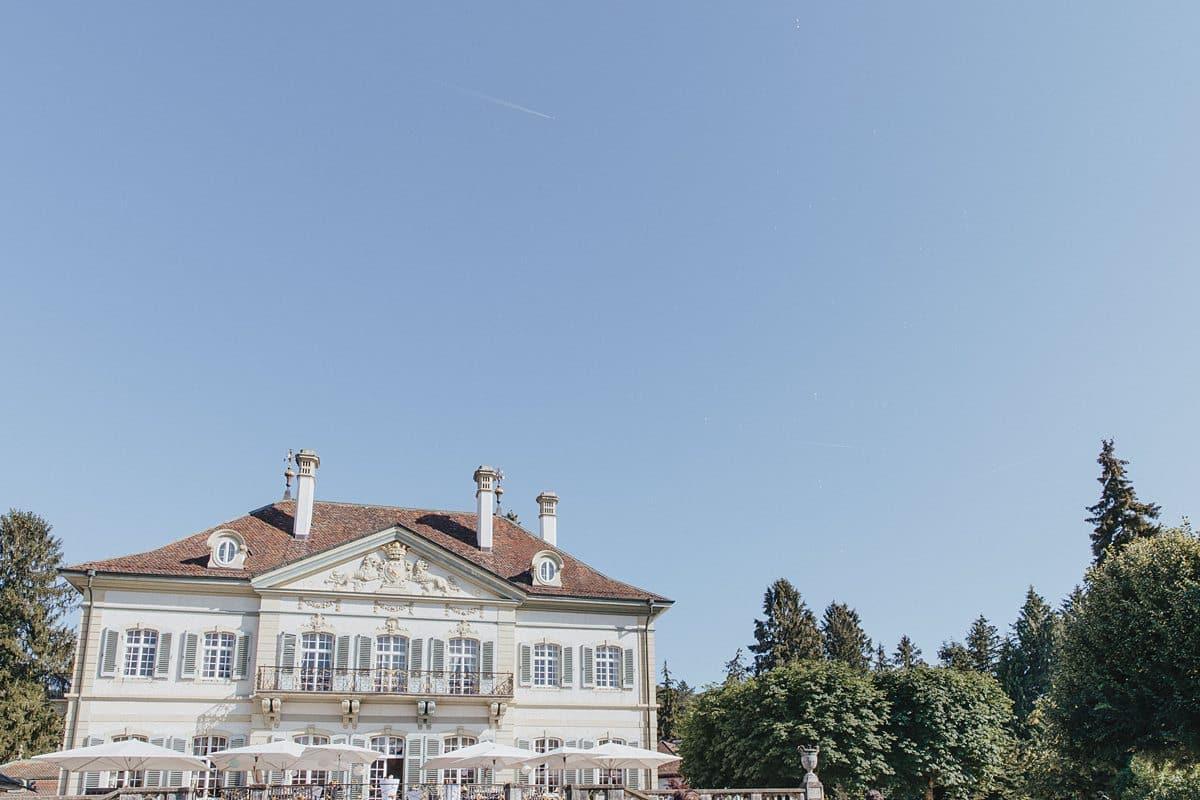 Haus für die Hochzeit in Beuggen.