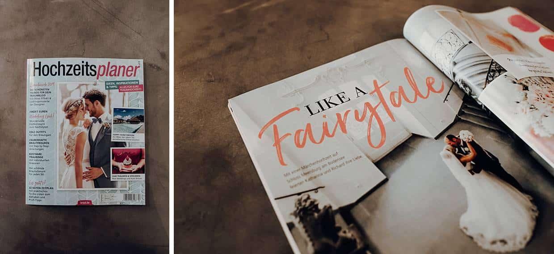 Ein Heft über Hochzeitsplaner.