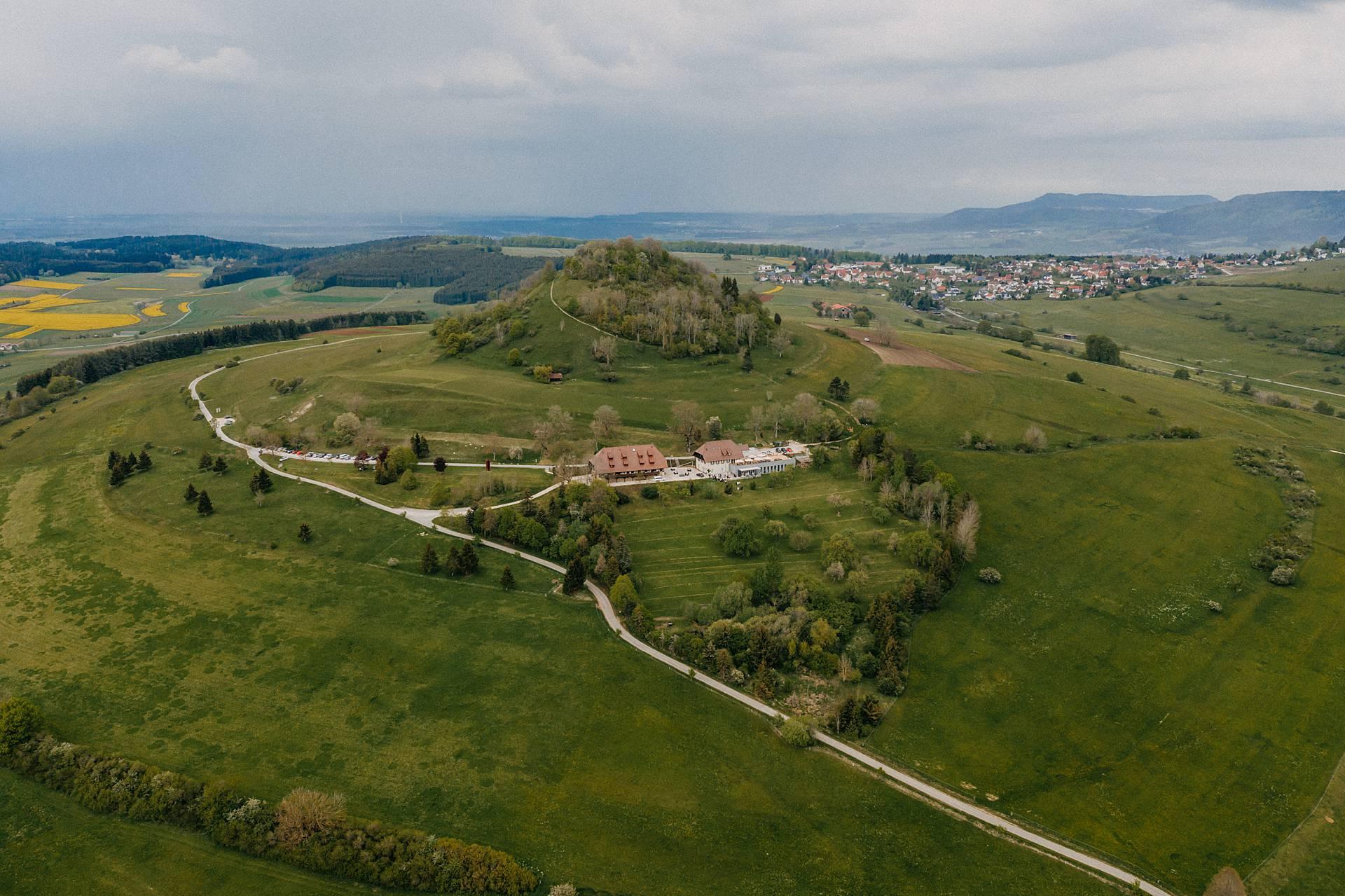 Ein Landschaftsfoto von Freiburg.