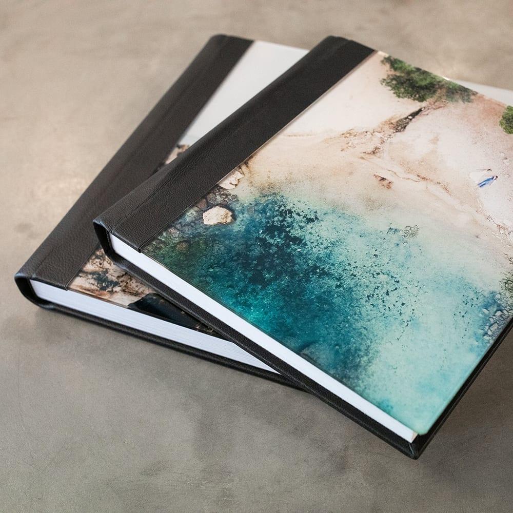 Fotobücher mit Acrylcover.