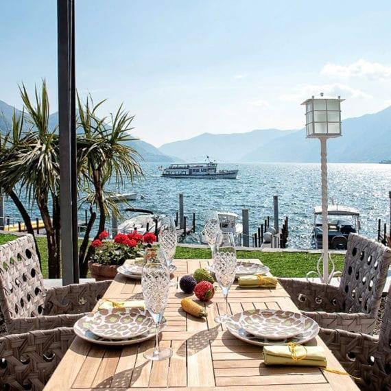 Blick auf den Lago Maggiore.