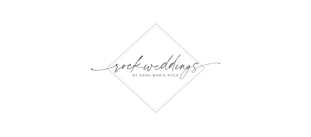 Logo von rockwedding by Anna-Maria Rock