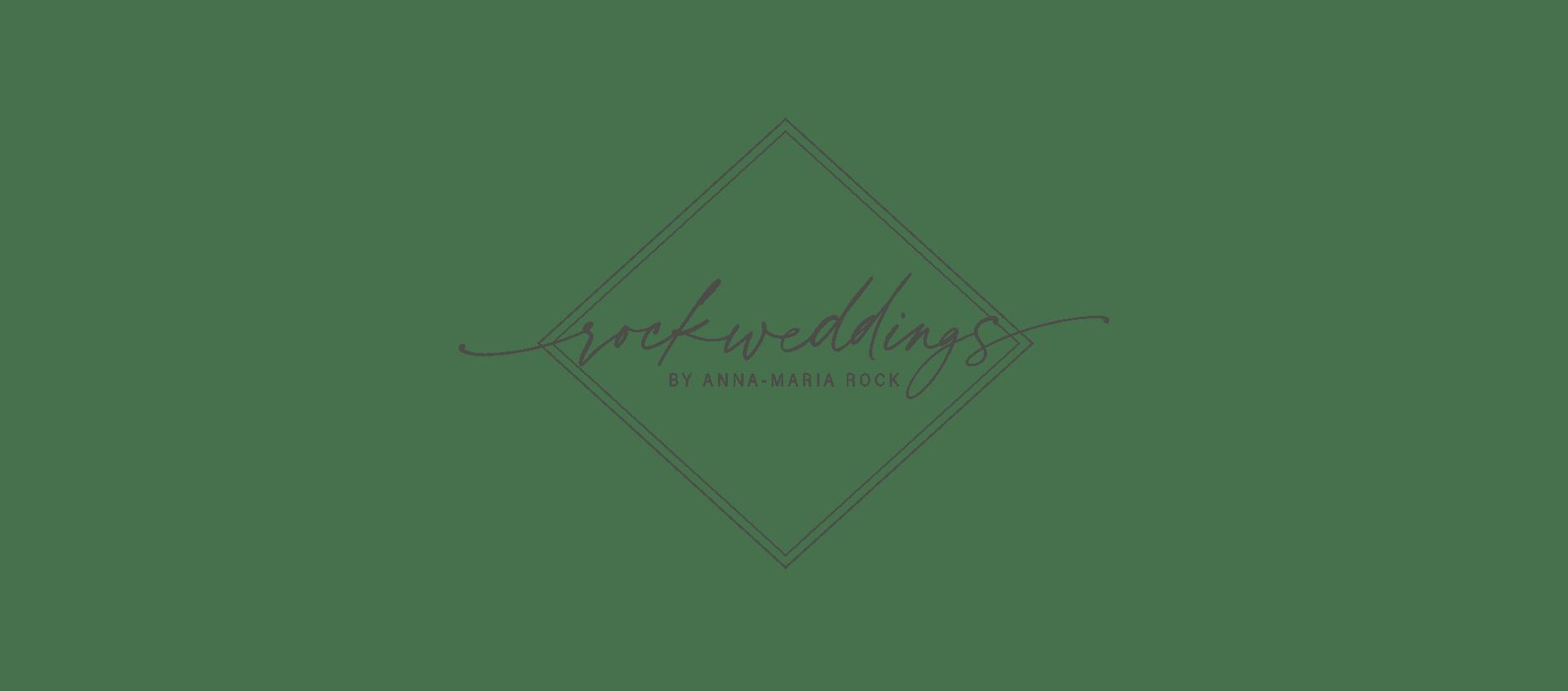 Logo von rockwedding by Anna-Maria Rock